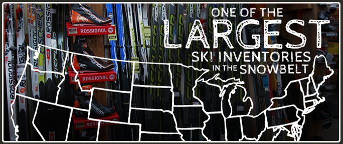Largest Ski Inventory