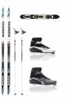 ROSSIGNOL ZYMAX CLASSIC CROSS COUNTRY SKI PACKAGE