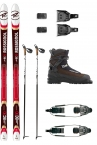ROSSIGNOL BC 90 POSITRACK EXTREME CROSS COUNTRY SKI PACKAGE