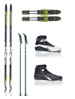 FISCHER SUPERLIGHT CROWN CROSS COUNTRY SKI PACKAGE