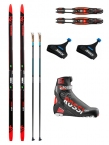 ROSSIGNOL X-IUM PREMIUM CROSS COUNTRY SKATE SKI PACKAGE