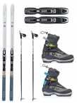 FISCHER SPIDER 62 BC CROSS COUNTRY SKI PACKAGE 18/19