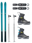 FISCHER S-BOUND 98 EZ-SKIN BACKCOUNTRY SKI PACKAGE 18/19