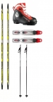 FISCHER SCS SKATE JR CROSS COUNTRY SKI PACKAGE