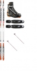 ROSSIGNOL DELTA SKATING JR CROSS COUNTRY SKI PACKAGE